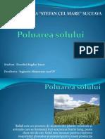 Proiect Ecologie