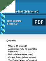 3 D Internet