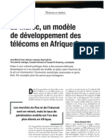 Le Maroc, un modèle du développement des telecoms en Afrique