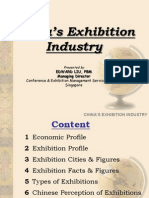 Chin as Exhibition Industry