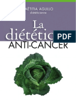 eBook Gratuit La Dietetique Anti-cancer