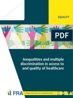 Inequalities Discrimination Healthcare En