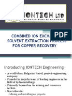 Combined Ion Exchange - Solvent Extraction Process 1