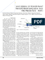 Study and Design of Power Plant Transformer Explosion and Fire Prevention.pdf