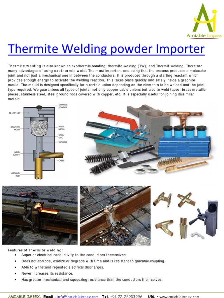 Thermite-Welding-Powder-Importer.pdf | Industrial Processes | Sets ...