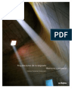 2007 Ourense - Arquitecturas de lo Sagrado. Memoria y Proyecto