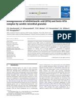 Biodegradation of Nitrilotriacetic Acid