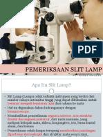 Pemeriksaan Slit Lamp