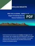 Toksikologi Industri M Kes