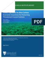Green Payments for Blue Carbon