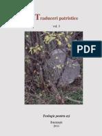 Traduceri Patristice vol.3