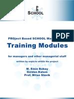 PRO-SCHOOL Training ModulesEN
