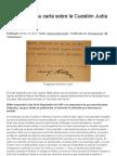 Adolf Hitler y su carta sobre la Cuestión Judía en 1919