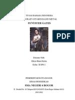 Biografi Synyster Gates