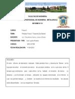 Informe 01 Fisica II