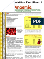 Fact Sheet 1 Anaemia