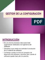 GESTIÓN DE LA CONFIGURACIÓN