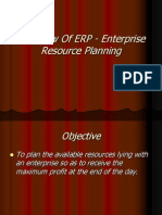 Overview of ERP Topic 1