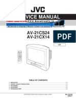 JVC AV-21CS24 AV-21CX14 Service Manual