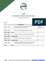 Agenda Atelierului de Planificare Strategica a AAC