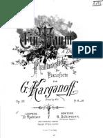 Korganov Op.26 Ein Traum