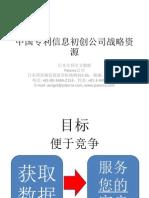 中国专利信息初创公司战略资源