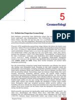 Bab 5 Geomorfologi