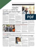 Atacan Bergoglio Cristina Queria Papa CLAFIL20130315 0002