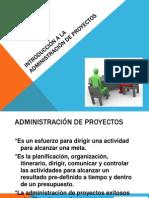 Unidad 1.1 Administracion de Proyectos