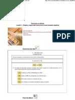 Lecciones de economía española. Lección 1