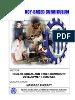 Massage Therapy NC II