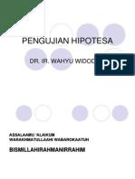 Bab 7. Pengujian Hipotesa1