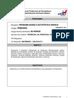 Bl 02 - Prog. Probabilidade e Estatistica Basica