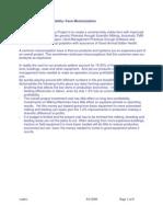 Techno-Economic Feasibility of Dairy Project -Farm Mechanization