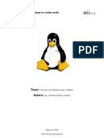 Proyecto Software Libre Samba