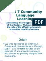 TESOL_Unit 7 Community Language Learning