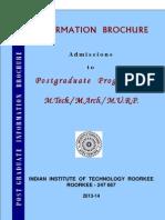 PG Information Brochure(18032013)