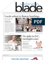 Washingtonblade.com - Volume 44, Issue 16 - April 19, 2013