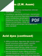 Acid dyes (1)