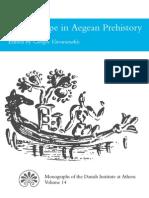 The Seascape in Aegean Prehistory Ed G Vavouranakis 2011
