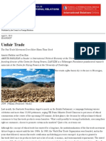 (Global Economy) Unfair Trade (Amrita Narlikar and Dan Kim) Foreign Affairs
