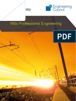 Professional Engineering Booklet