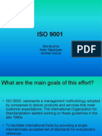 ISO 9001 Presentation