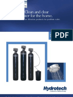 Water Filters Residential 5600SXT Chemical Free Iron Filters ENGLISH Canadian Brochure