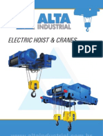 Folder Electric Hoist Crane
