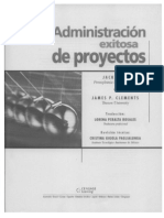 Admon Exitosa de Proyectos