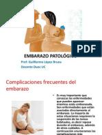 Complicaciones Frecuentes Del Embarazo
