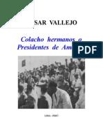 Cesar Vallejo - Colacho Hermanos
