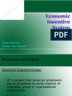 Economic Incentive System
