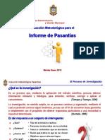 UNEFA Induccion Metodologica Pasantias